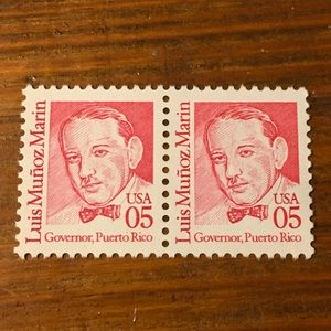VTG COLLECTIBLE POSTAGE STAMPS TWO GOVERNOR